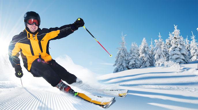 Skiing Gunstock Mountain