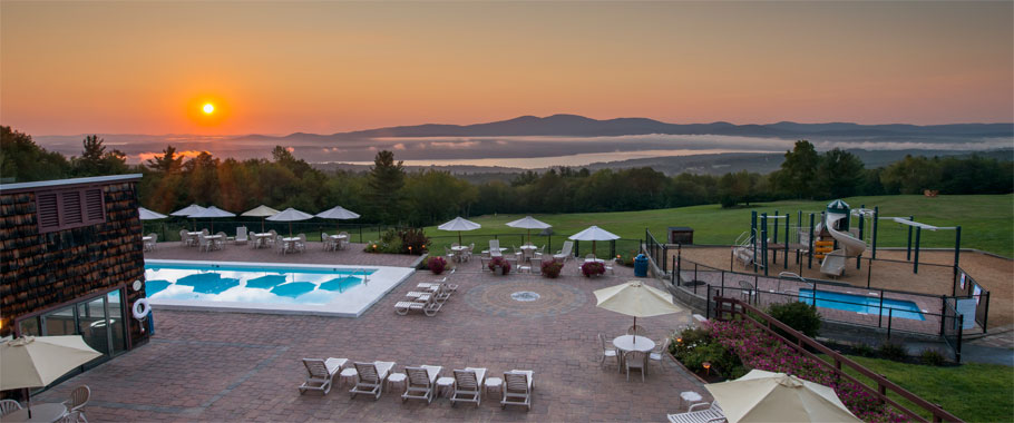 Experience The Most Breathtaking Sunrises In New Hampshire Overlooking Lake Winnisquam And Belknap Mountains