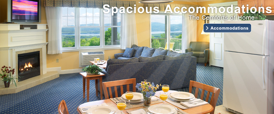 Steele Hill offers spacious, condo-style accommodation