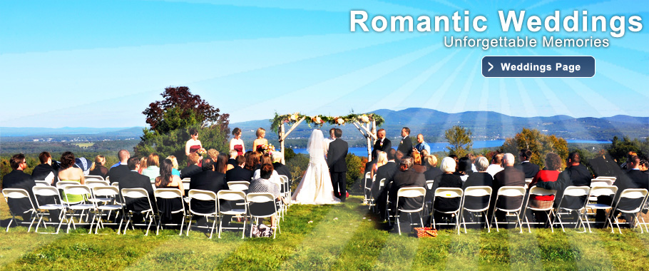 A dream New Hampshire wedding overlooking Lake Winnisquam